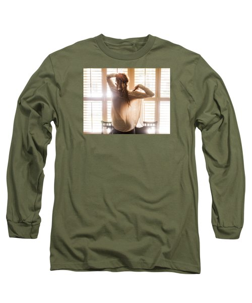 A Little Bit Country Long Sleeve T-Shirt by Marat Essex