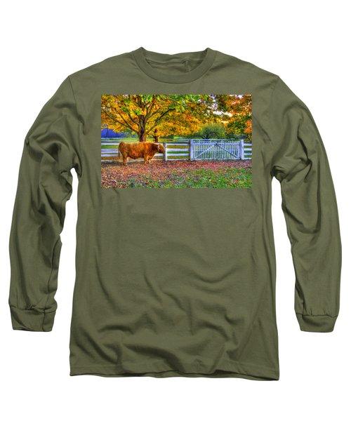 A Little Shaker Bull Long Sleeve T-Shirt