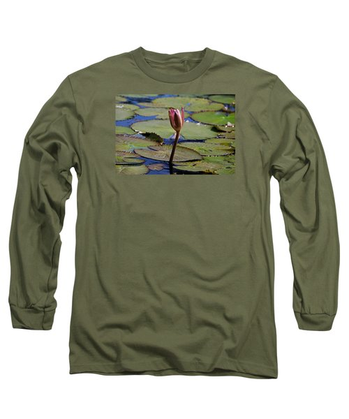Long Sleeve T-Shirt featuring the photograph A Lonely Vigil by Michiale Schneider