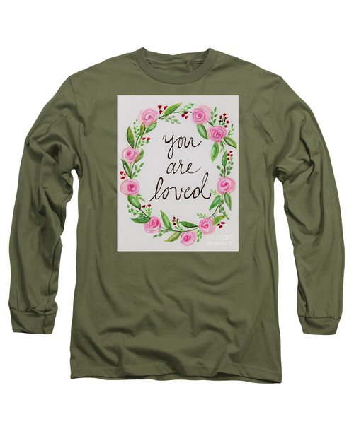 A Love Note Long Sleeve T-Shirt by Elizabeth Robinette Tyndall