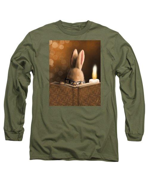A Mystery Story Long Sleeve T-Shirt by Veronica Minozzi