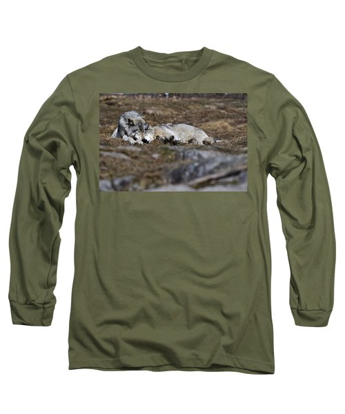 Long Sleeve T-Shirt featuring the photograph A Much Needed Rest by Michael Cummings