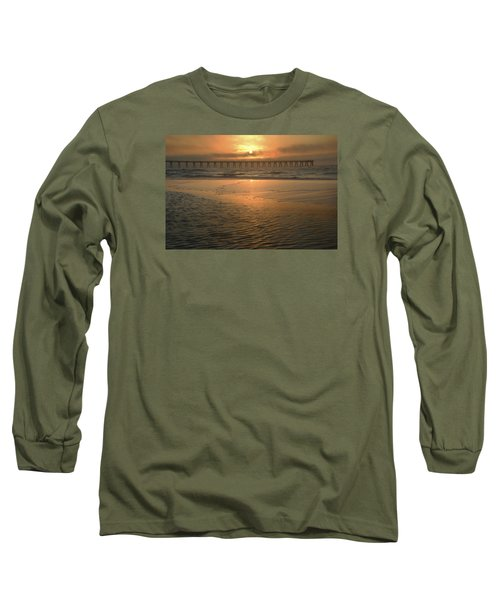 A New Day Dawning Long Sleeve T-Shirt by Renee Hardison