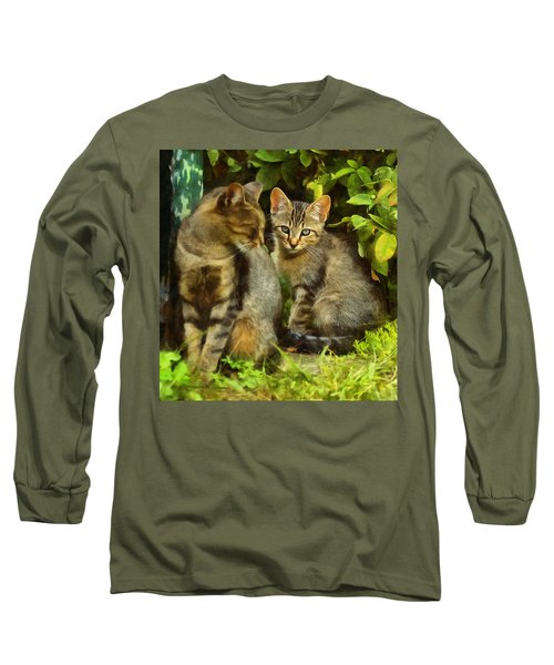 A Pair Of Feral Cats Long Sleeve T-Shirt