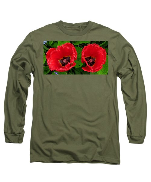 A Pair Of Poppies Long Sleeve T-Shirt by John Topman