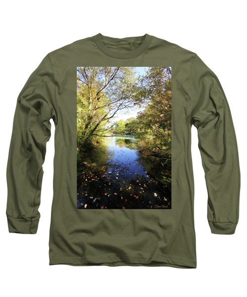 A Peaceful Afternoon Long Sleeve T-Shirt