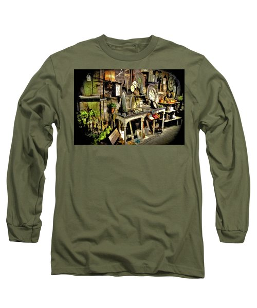 A Peek In The White Rabbits Hole Long Sleeve T-Shirt
