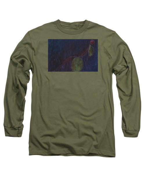 A Person Who  Inquires Into  The Soul Of Things Long Sleeve T-Shirt by Min Zou