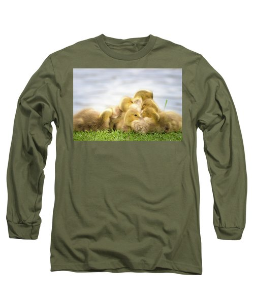 A Pile Of Goslings Long Sleeve T-Shirt