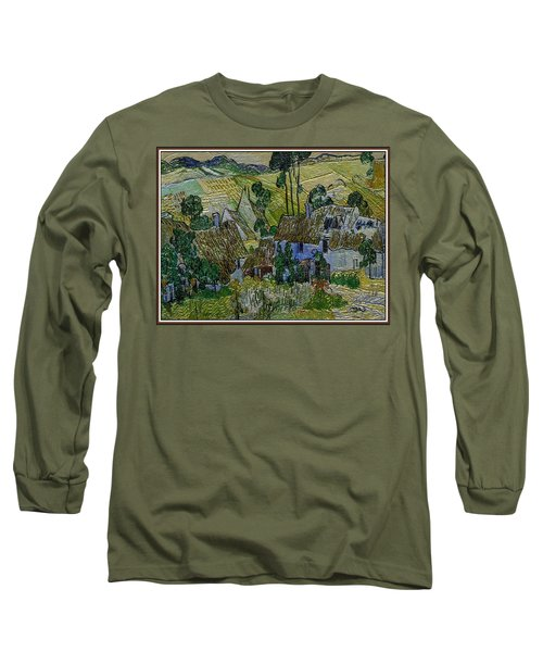 A Replica Of A Painting  Of Van Gogh Long Sleeve T-Shirt by Pemaro