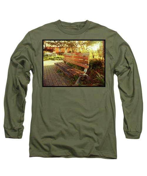 Long Sleeve T-Shirt featuring the photograph A Restful Respite by Shawn Dall