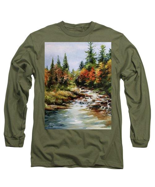 A River Runs Long Sleeve T-Shirt