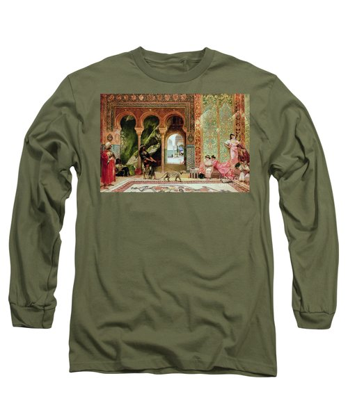 A Royal Palace In Morocco Long Sleeve T-Shirt