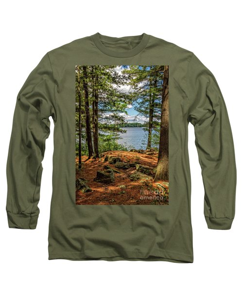 A Secluded Spot Long Sleeve T-Shirt