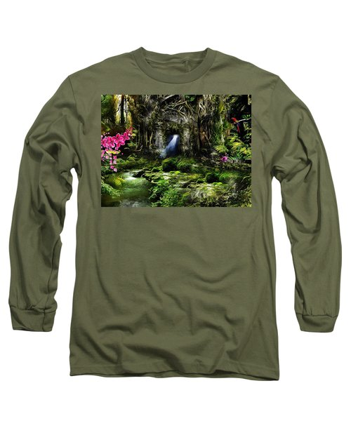 A Secret Place Long Sleeve T-Shirt by Gabriella Weninger - David