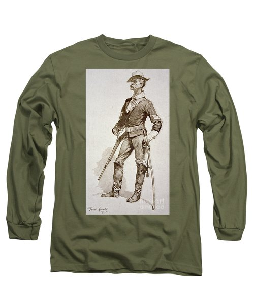 A Sergeant Of The Us Cavalry Long Sleeve T-Shirt