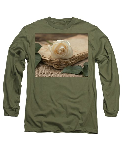 Long Sleeve T-Shirt featuring the photograph A Simple Time by Kim Hojnacki