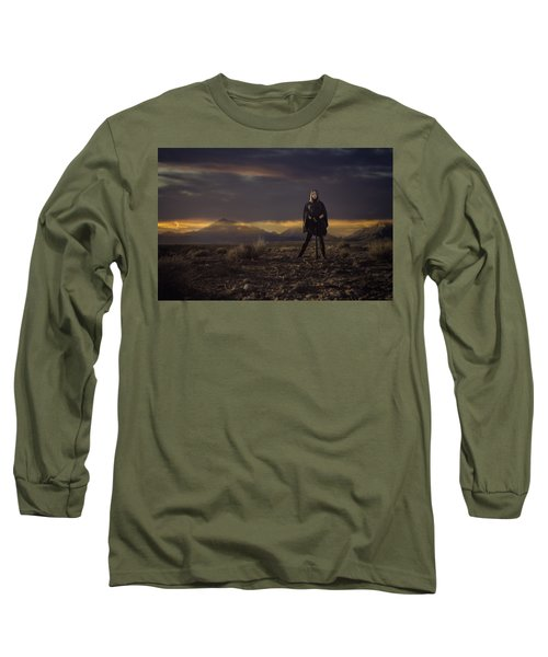 A Storms Brewing Long Sleeve T-Shirt
