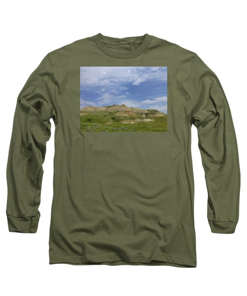A Summer Day In Dakota Long Sleeve T-Shirt