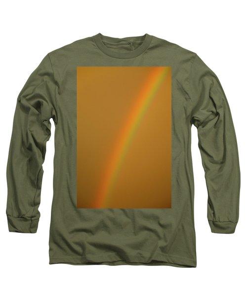 A Sunset Rainbow Long Sleeve T-Shirt
