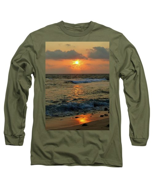 Long Sleeve T-Shirt featuring the photograph A Sunset To Remember by Lori Seaman