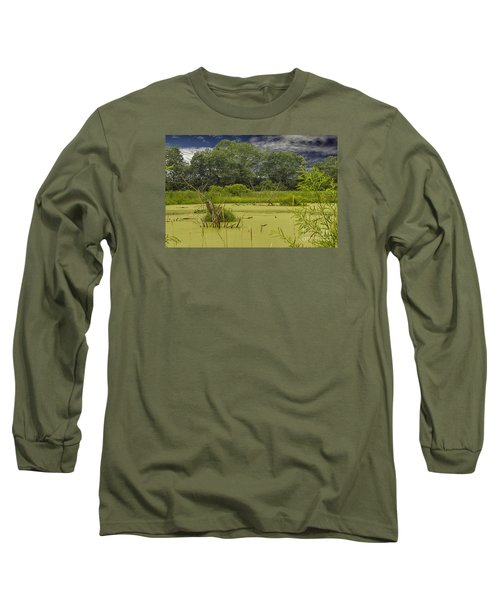 Long Sleeve T-Shirt featuring the photograph A Swamp Thing by JRP Photography