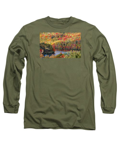 A Tennessee Autumn Long Sleeve T-Shirt by Debbie Karnes