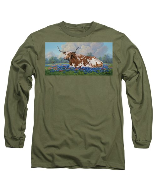 A Texas Welcome Long Sleeve T-Shirt