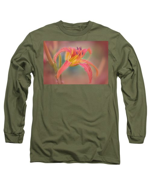 A Thing Of Beauty Lasts Only For A Day. Long Sleeve T-Shirt