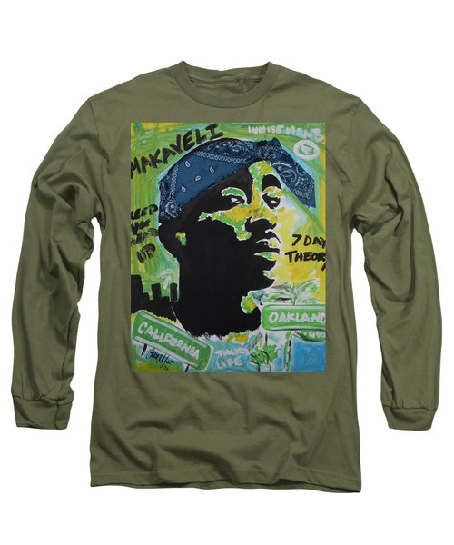 A Thugs Mind Long Sleeve T-Shirt