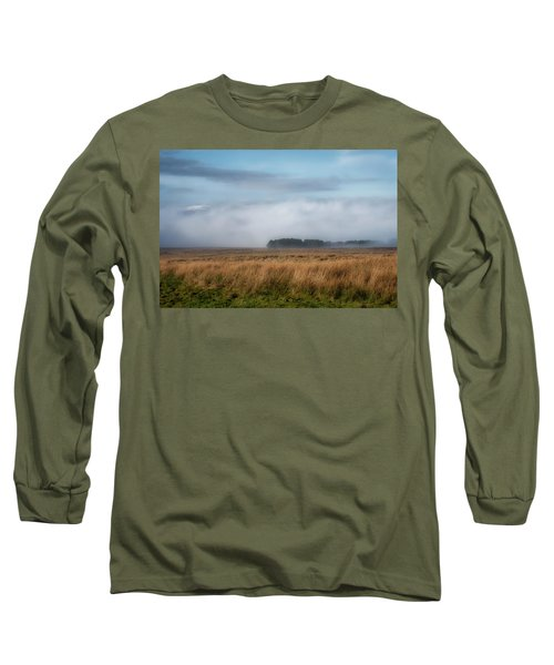 Long Sleeve T-Shirt featuring the photograph A Touch Of Snow by Jeremy Lavender Photography