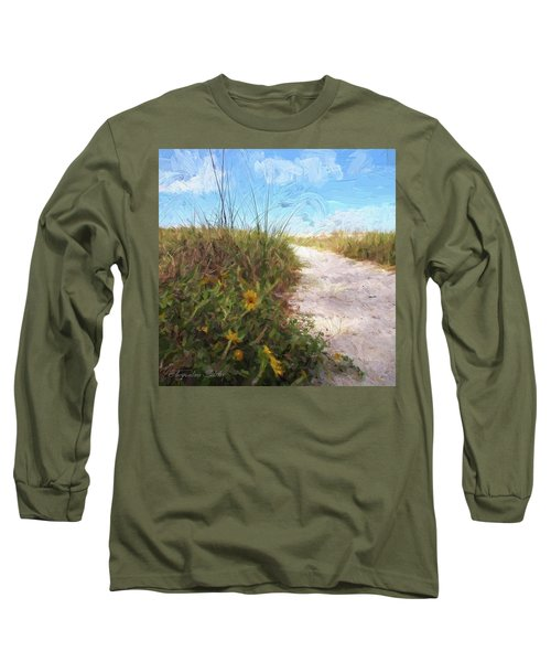 A Trail To The Beach Long Sleeve T-Shirt