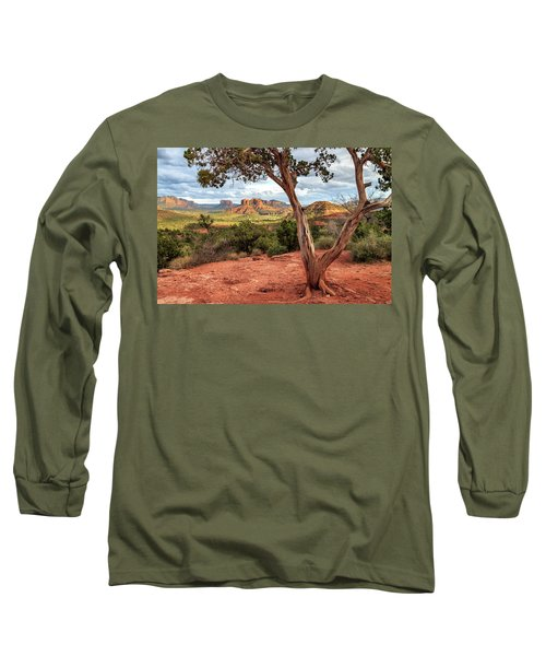 A Tree In Sedona Long Sleeve T-Shirt