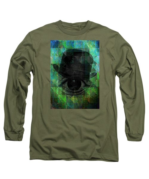 A Very Private Eye Long Sleeve T-Shirt by Mimulux patricia no No