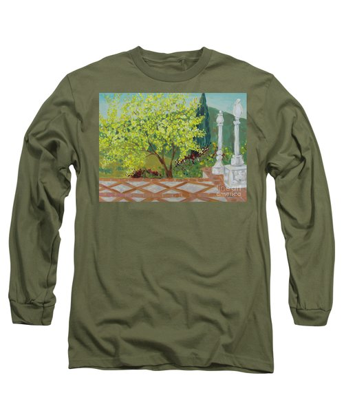 A View From Hearst Castle Long Sleeve T-Shirt