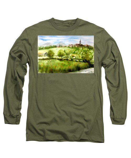 A View From Tuscany Long Sleeve T-Shirt