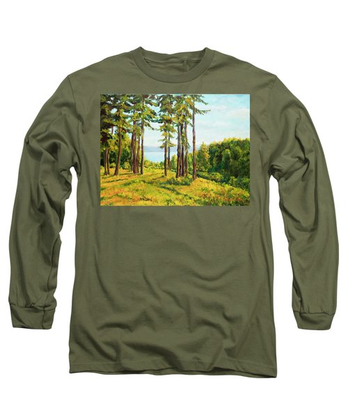 A View To The Lake Long Sleeve T-Shirt