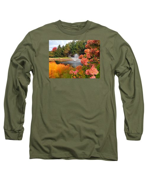 A Vision Of Autumn Long Sleeve T-Shirt by Teresa Schomig