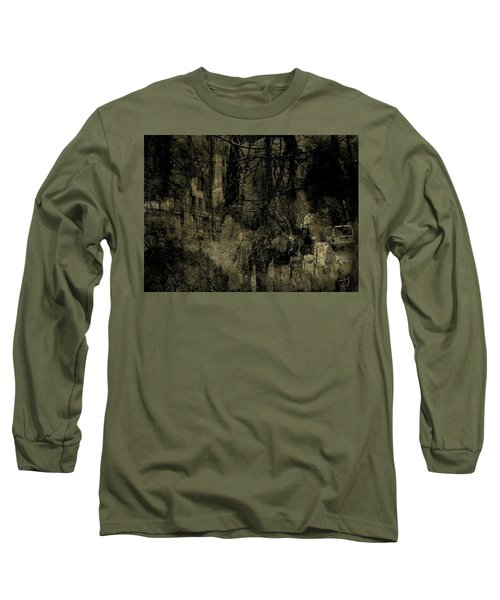 Long Sleeve T-Shirt featuring the photograph A Walk In The Park by Jim Vance