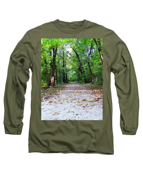 A Walk In The Woods Long Sleeve T-Shirt