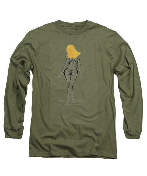 A Walk On The Beach Long Sleeve T-Shirt