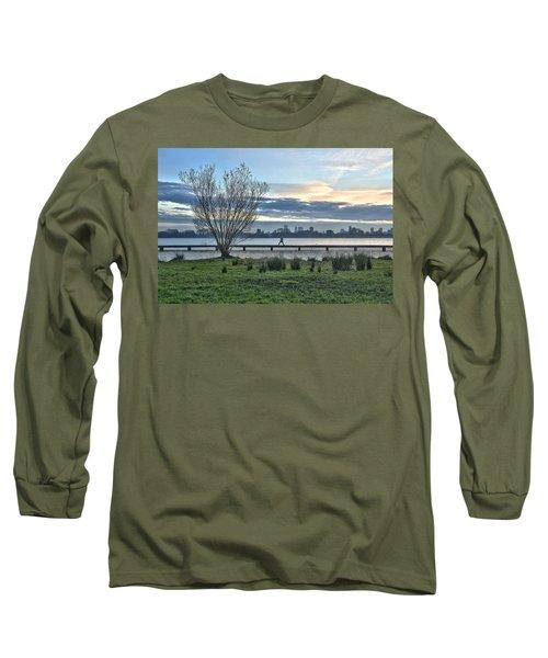 A Walk Through The Lake Long Sleeve T-Shirt