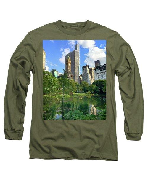 A Walk Thru Central Park Long Sleeve T-Shirt