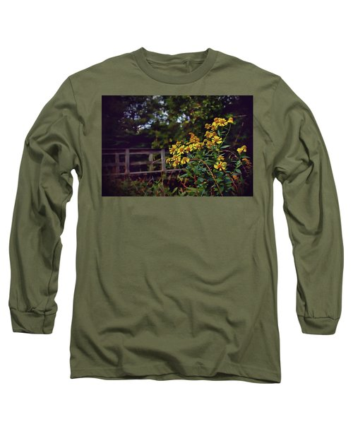 Long Sleeve T-Shirt featuring the photograph A Walk With Wildflowers by Jessica Brawley