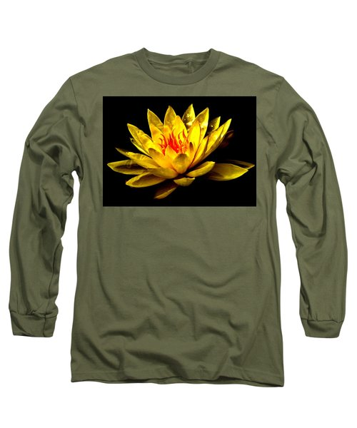A Water Lily Long Sleeve T-Shirt