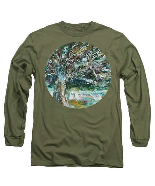 A Winter Tree Long Sleeve T-Shirt
