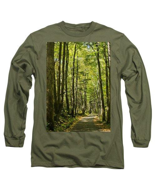 A Woodsy Trail Long Sleeve T-Shirt