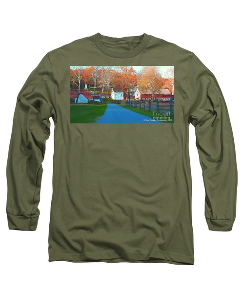 A World With Octobers Long Sleeve T-Shirt