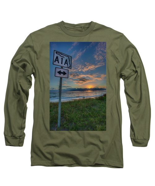 A1a Sunrise Long Sleeve T-Shirt