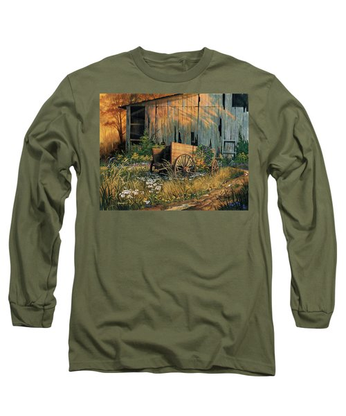 Abandoned Beauty Long Sleeve T-Shirt by Michael Humphries